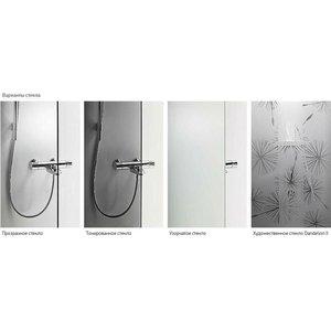 Задние стенки IDO Showerama 8-5 90x90 см, белый профиль, прозрачное (4985022991)