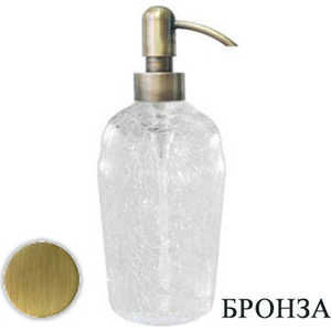 Диспенсер Bagno Associati настольный craqule стекло Old Brass Opera (ON72892)