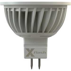 Светодиодная лампа X-flash XF-SPL-MR16-GU5.3-3W-3K-12V 42982 лампочка x flash spotlight mr16 xf spl l gu5 3 6w 3000k 12v желтый свет линза 43507