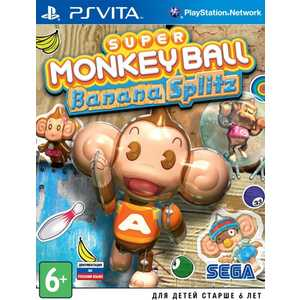Игра для PS Vita  Super Monkey Ball Bannana Splitz (PS Vita, русская версия)