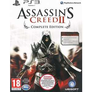 Игра для PS3  Assassin's Creed II Complete (PS3, английская версия)