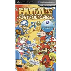 Игра для PSP  Fat Princess: Fistful of Cake (PSP, английская версия)