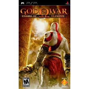 Игра для PSP  God of War: Chains of Olympus (PSP, русская документация)