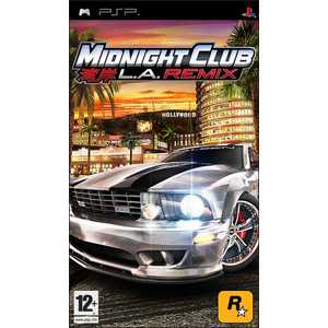 Игра для PSP  Midnight Club Los Angeles Remix (PSP, английская версия)