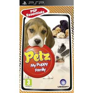 Игра для PSP  Petz My Puppy Family (PSP, русская версия)