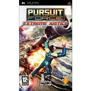 Игра для PSP  Pursuit Force: Extreme Justice (PSP, русская версия)