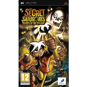 Игра для PSP  Secret Saturdays: Beasts of the 5th Sun (PSP, английская версия)