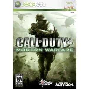 Игра для Xbox 360  Call of Duty:4 Modern Warfare (Xbox 360, английская версия)