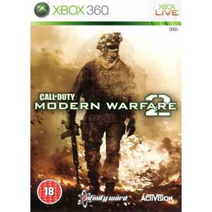 Игра для Xbox 360  Call of Duty: 2 Modern Warfare (Xbox 360, английская версия)