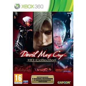 Игра для Xbox 360  Devil May Cry HD Collection (Xbox 360, английская версия)