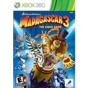 Игра для Xbox 360  Madagascar 3: The Video Game (Xbox 360, русские субтитры)