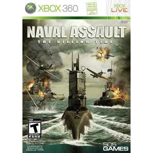 Игра для Xbox 360  Naval Assault: The Killing Tide (Xbox 360, английская версия)