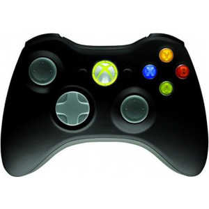 Геймпад Microsoft XBox 360 Wireless Controller black (JR9-00010) геймпад microsoft xbox one wireless controller fc barcelona