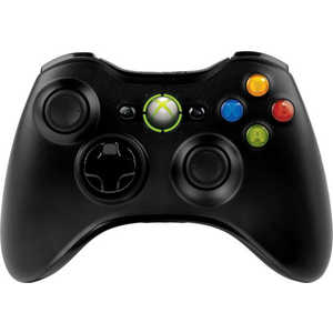 Microsoft XBox 360 Wireless Controller, black + игра Halo 4 (GTA-00146)