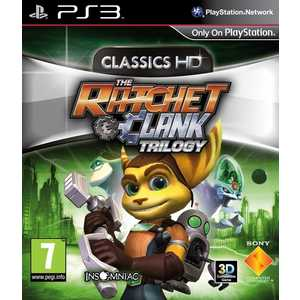 Игра для PS3  Ratchet and Clank HD Collectiion (PS3, русская версия)