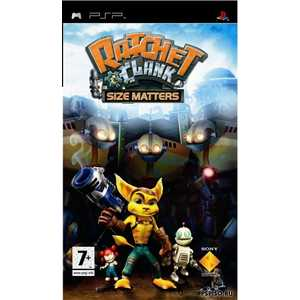 Игра для PSP  Ratchet and Clank: Size Matters (PSP, английская версия)