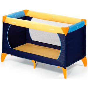 Манеж Hauck Dream'n Play yellow blue navy 604038 кровать dream master чара 2 спинки 135х200 см