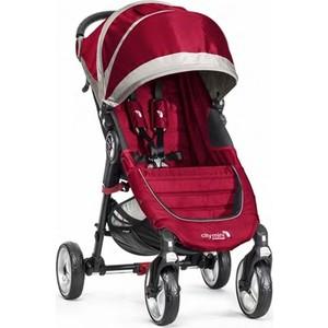 Коляска прогулочная Baby Jogger City Mini Single 4 wheel (красно-серый) ВО10236