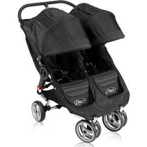 Коляска прогулочная для двойни Baby Jogger ''City Mini Double'' (черный/серый) ВО12210*