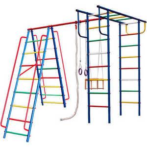 Детский спортивный комплекс Вертикаль -А1+П дачный спортивные комплексы вертикаль а1 п детский спортивный комплекс с горкой