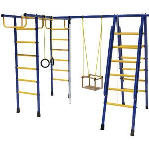 Детский спортивный комплекс Лидер Д1-01 синий/желтый фен bosch phd 1150 beautixx travel
