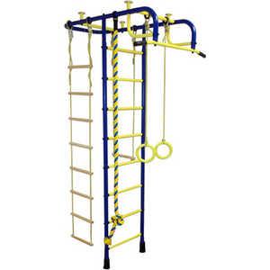 Детский спортивный комплекс Пионер А (синий/жёлтый)