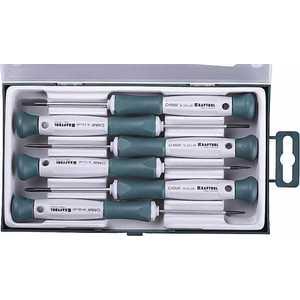 Набор отверток для точных работ Kraftool 6 предметов Electronic-Kraft (25031-H6_z01) тонкогубцы kraftool kraft мах 200мм 22011 3 20