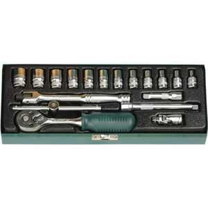 Набор торцовых головок Kraftool 1/4'' 18шт Industrie Qualitat (27890-H18_z01)