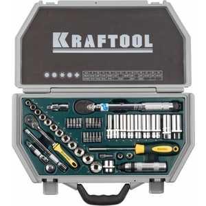 Набор головок торцевых Kraftool 3/8'' 49шт Industrie Qualitat (27975-H49)