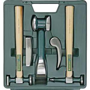Набор Kraftool Industrie рихтовочный 6 предметов (2 молотка/4 правки) (20371-H6)  набор рихтовочный matrix 7 предметов