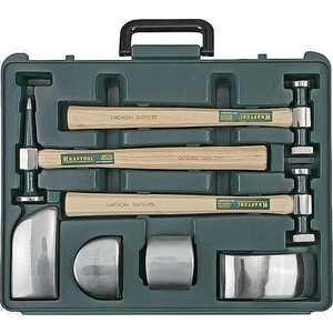 Набор Kraftool Industrie рихтовочный 7 предметов (3 молотка/4 правки) (20370-H7)
