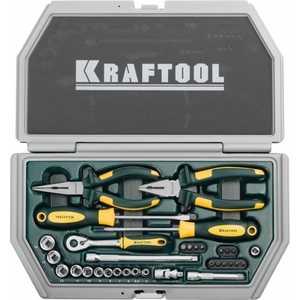 Набор слесарно-монтажного инструмента Kraftool 33шт Industry (27972-H33)