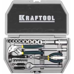 Набор слесарно-монтажного инструмента Kraftool 38шт Industry (27971-H38)