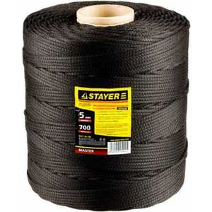 Шнур Stayer Master 700м 5мм (50411-05-700) шнур stayer master резиновый крепежный со стальными крюками 80 см d 7 мм 2 шт