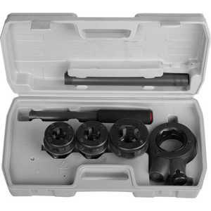 Набор резьбонарезной Stayer 1/2-1 4 предметов в боксе Professional (28260-H3) набор ключей комбинированных stayer professional 2 271259 h19