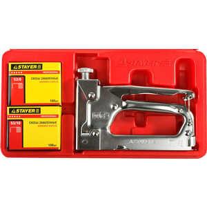 купить Степлер ручной Stayer Profi 4-14мм тип скобы 53 (3150-H4_z01) онлайн