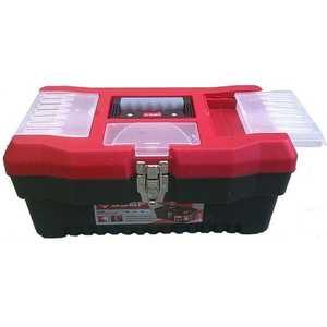 Ящик Зубр ''Мастер'' пластмассовый для инструмента 40.6x22.5x20.2см 16'' (38322_z01)