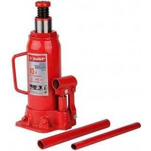 Домкрат гидравлический бутылочный Зубр 2т 181-345мм в кейсе ''Эксперт'' (43060-2-K)