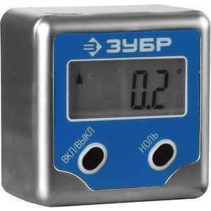 Уровень-угломер электронный Зубр Мини Эксперт (34743) уровень угломер электронный ada pro digit rumb а00481