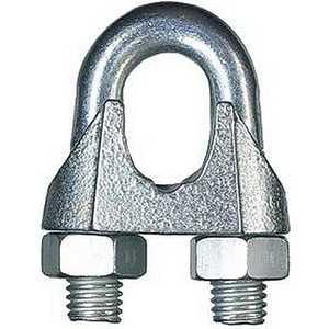 Зажим троса Зубр DIN 741 оцинкованный 19мм ТФ5 8 шт (4-304415-19) сетка волейбольная glav 03 200 любительская нить d 2 мм без троса