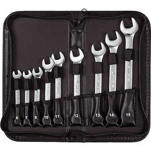 Набор ключей комбинированных Stayer 6-15мм 9шт Professional (2-271252-H9) набор ключей комбинированных stayer professional 2 271251 h7