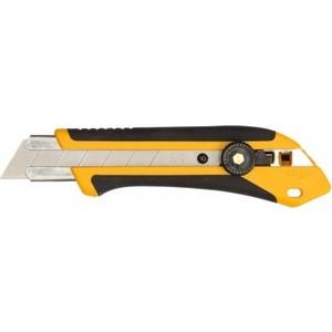 Нож с выдвижным лезвием Olfa 25мм трещоточный фиксатор (OL-XH-1)  нож olfa ol ak 4