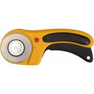 Нож Olfa с круговым лезвием и пистолетной рукояткой 60мм (OL-RTY-3/DX)