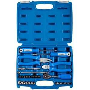 Набор слесарно-монтажного инструмента Зубр 1/4 33шт Эксперт (27671-H33) удлинитель 60х27 мм 0 4 мм