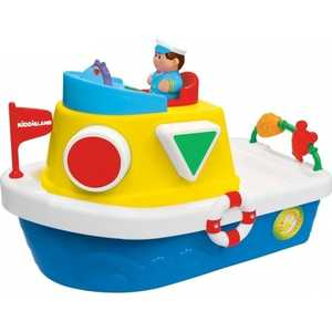 Kiddieland Развивающая игра Мой первый корабль-сортер KID 046045 kiddieland развивающая игрушка космический корабль kid 045898