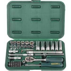 Набор головок торцовых Kraftool 1/4'' 42 предмета Expert Qualitat Super Lock (27885-H42_z01)