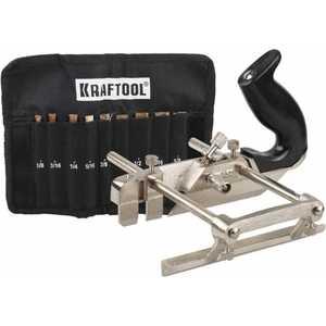 Рубанок Kraftool Multi метал. модель ''A52'' 210мм в комплекте 9 ножей (1-18541-H9) от ТЕХПОРТ