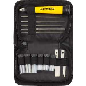 Набор Stayer нож + лезвия 38шт Master (09145-H38) набор ключей комбинированных stayer master 27085 h6