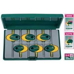 Набор Kraftool ключи Expert ''Мини'' Torx Т7-Т20 6 предметов (27440-H6)