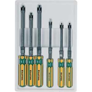 Набор отверток Kraftool 6 предметов PH0/1/2/ SL4/5.5/6.5 Expert (26173-H6) отвертка kraftool expert ph 1x80мм